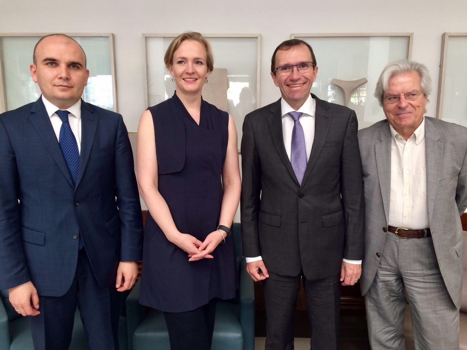 Евродепутатът Илхан Кючюк на стратегическа визита в Кипър