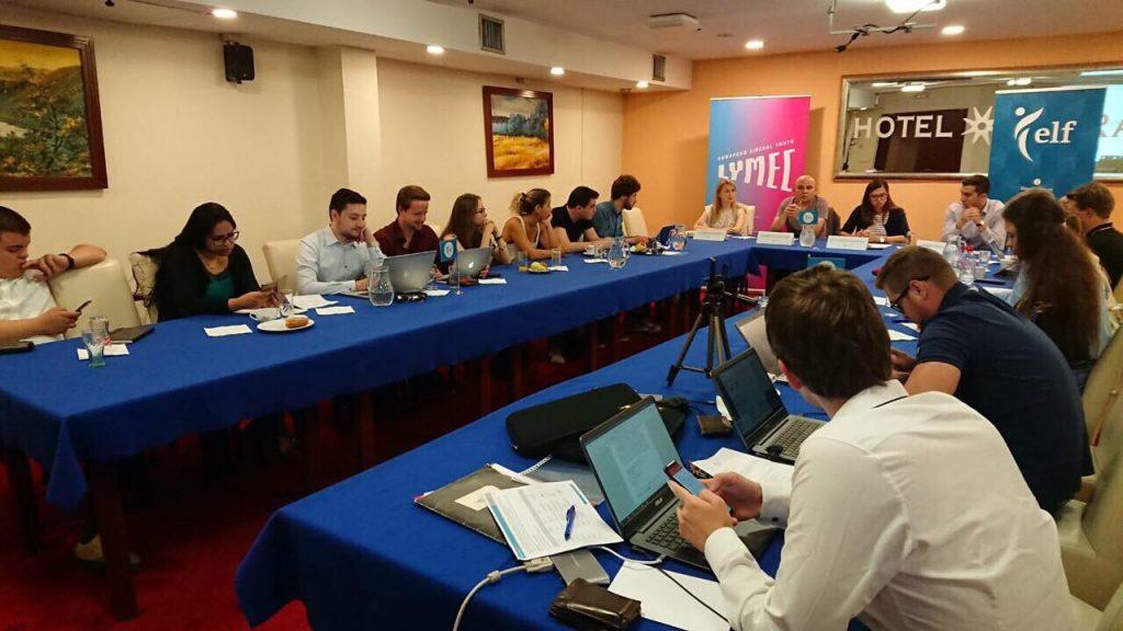 """""""Либерална визия за Европа"""" обсъдиха младите либерали в Сараево"""