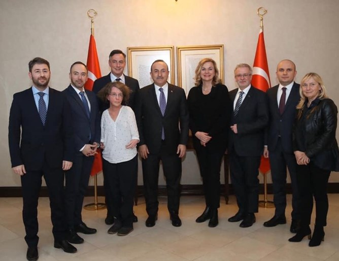 Евродепутатът Илхан Кючюк е част от официална делегация на Европейския парламент в Анкара